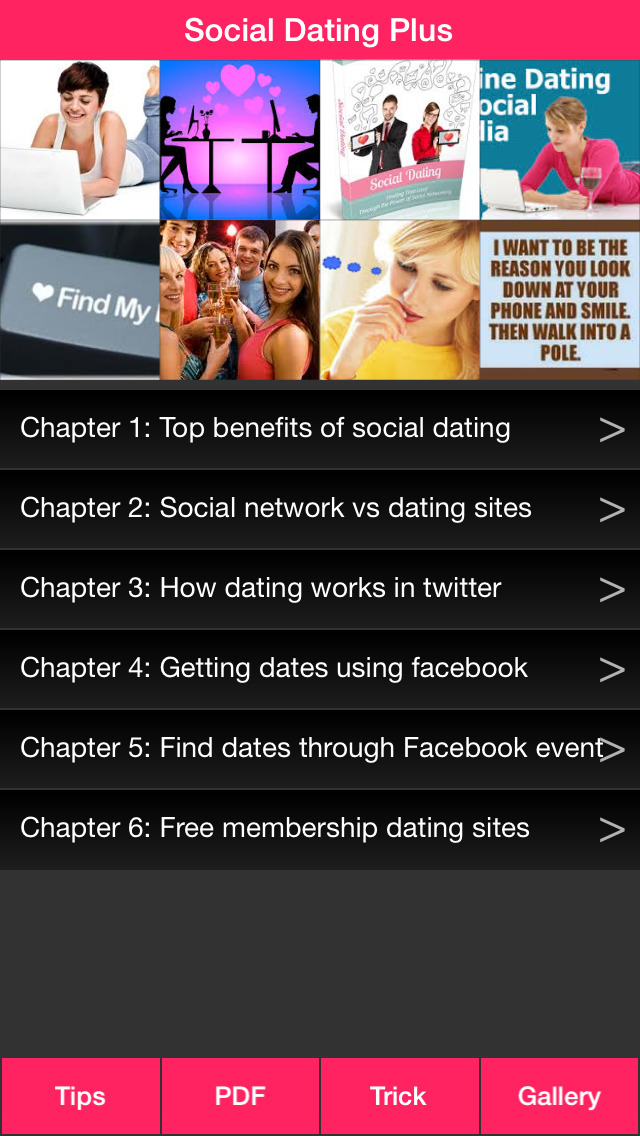 List of social networking sites for dating