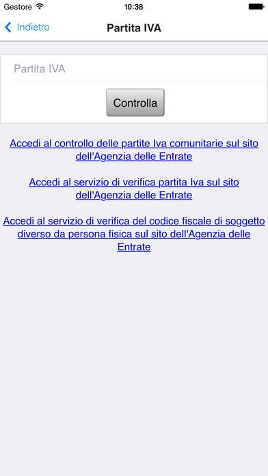 Controllo Codici iPhone Screenshot 3