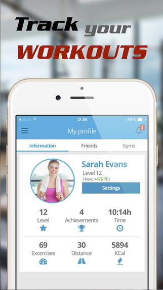 SocialGym App