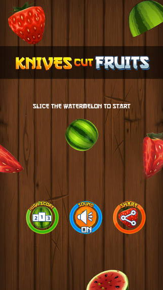 Knives Cut Fruits - Endless Cut And Splash Game With Your Friends