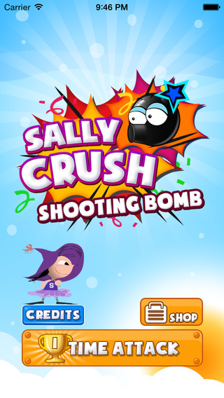 Sally Crush Shooting Bomb