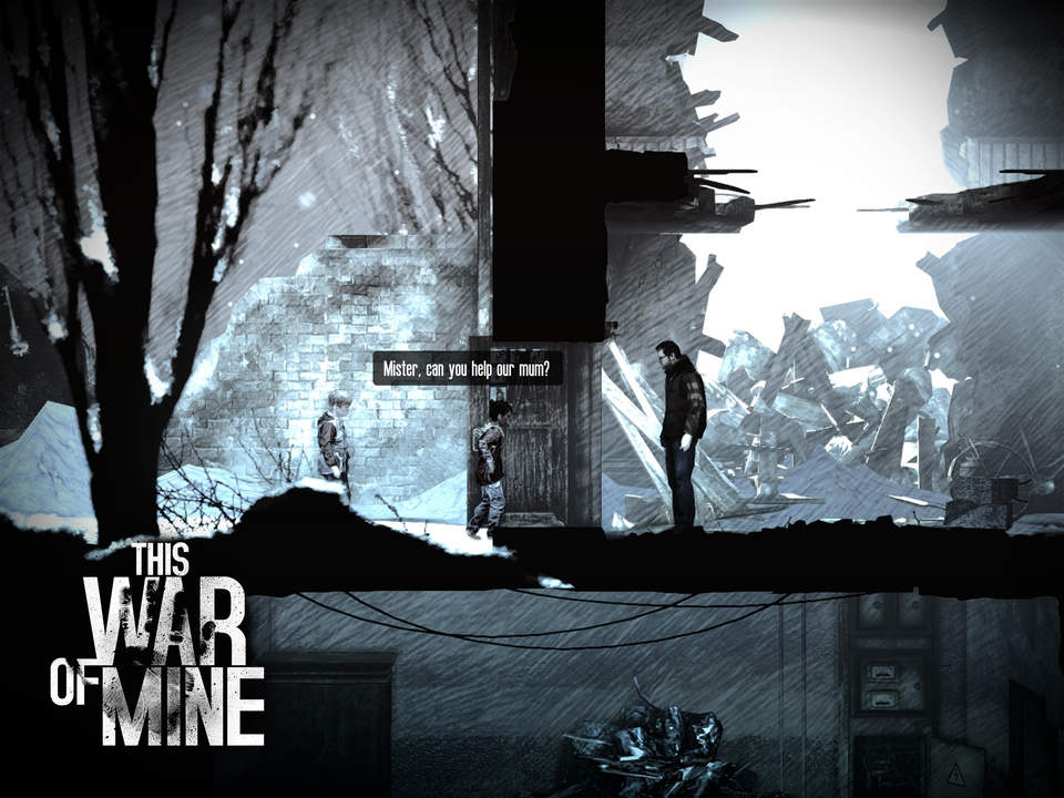 'This War of Mine', the Game About the Darker Side of War, is Out Now (via @toucharcade)