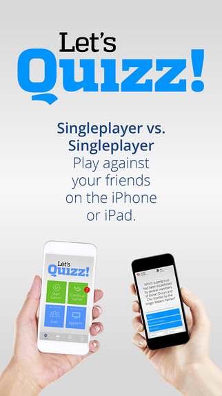 Let's Quizz - The Super-Quiz-Game for iPhone