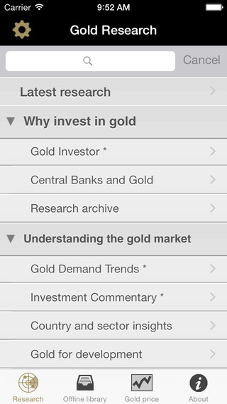 Gold Research: market-leading research on gold as an investment asset