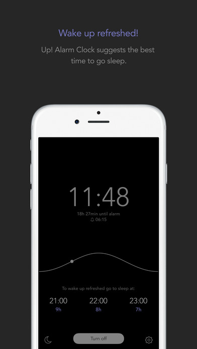Up! Alarm Clock - rise and begin your daily routine with motivation Screenshots