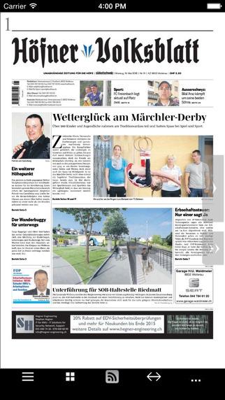 Höfner Volksblatt