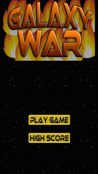Galaxy War - Avoid The Fire Bubble