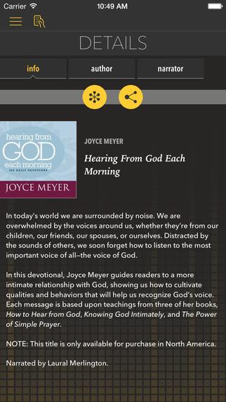 Hearing From God [by Joyce Meyer]