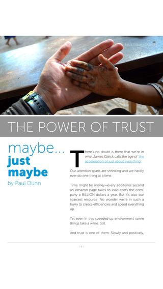 Trusted Magazine
