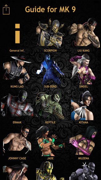 Fatalities-Guide for Mortal Kombat.