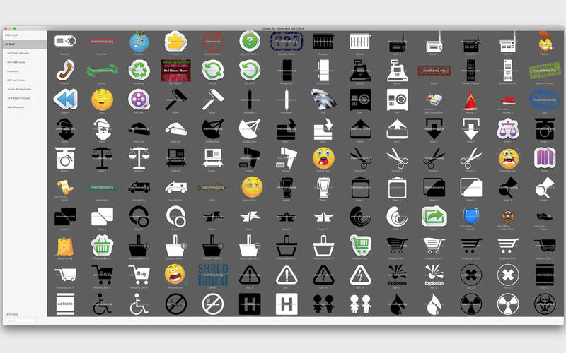 Clipart for iWork and MS Office on the Mac App Store