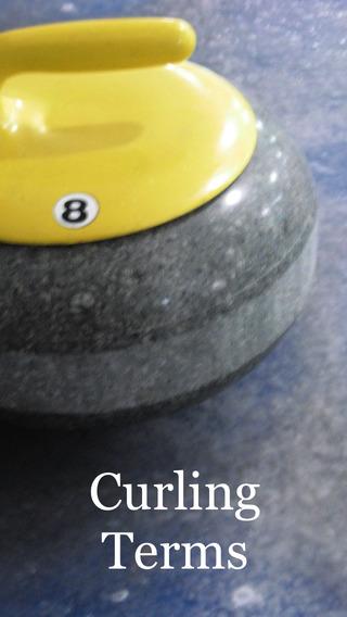 Curling Terms iPhone Screenshot 1