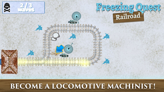 Railroad - Freezing Quest Deluxe