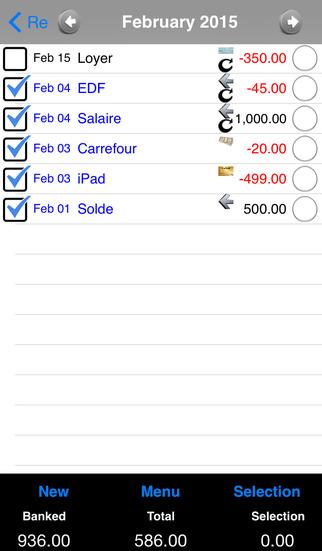 My Account Lite iPhone Screenshot 1