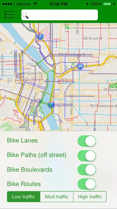 PortlandBike iPhone Screenshot 1