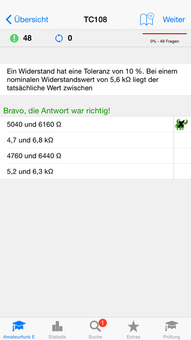 Amateurfunk - Klasse E iPhone Screenshot 2