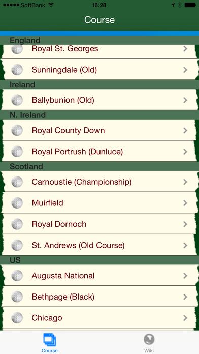 World Golf Views iPhone Screenshot 3