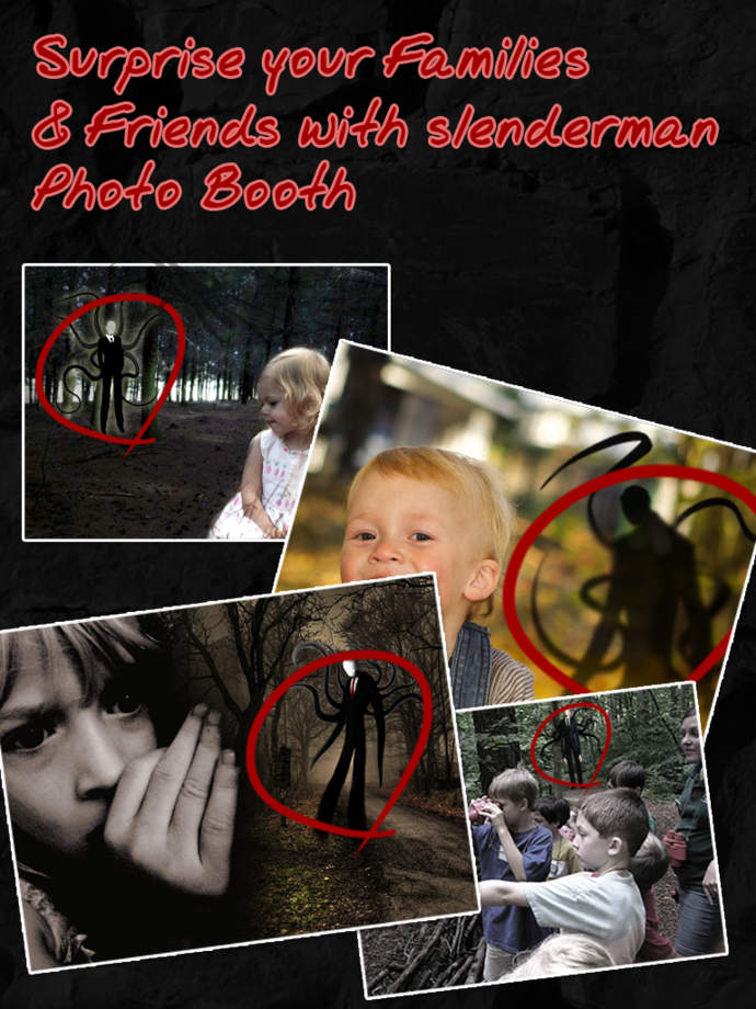 Slenderman Photo Booth Free - iPhone Mobile Analytics and App Store Data