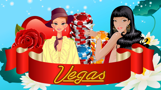 AA Classic Sexy Women in Hollywood of Big Vegas Slots Fortune Casino Free