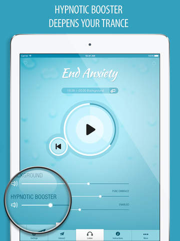 End Anxiety Hypnosis FREE - Guided Relaxation to Relieve Chronic Stress & Panic Attacks screenshot