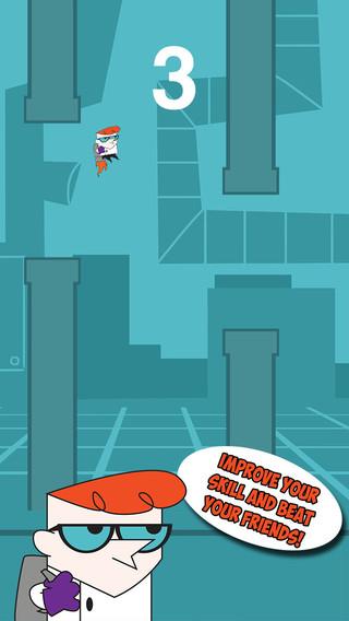 Jetpack Run - Dexters Laboratory Version