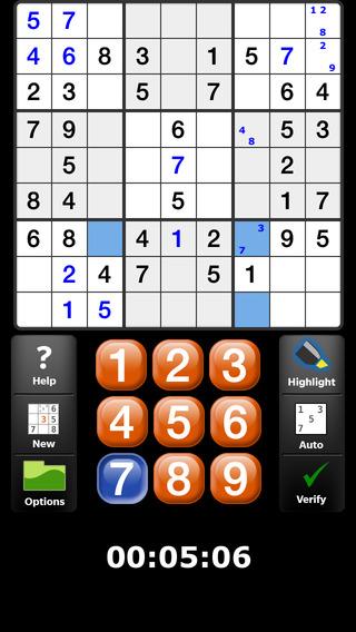 Satori Sudoku iPhone Screenshot 2