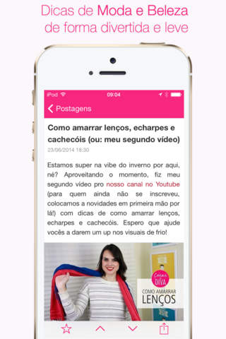 Coisas de Diva - Tudo sobre beleza, cosméticos, maquiagem, moda e outras coisinhas mais screenshot 2