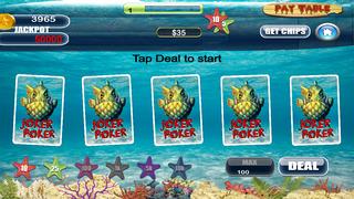 Screenshot 2 Туз Мега Рыба Звездой Покера Pro — игры в карты на двоих казино гранд