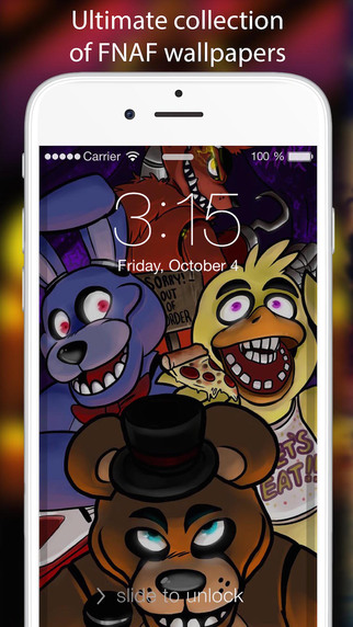 Wallpapers For Five Night's At Freddy's EDITION- Design your Lock Screen with FNAF