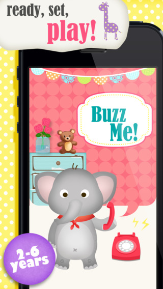Buzz Me Kids Toy Phone Free - All in One children activity center