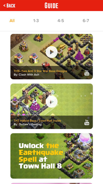 Screenshots of Free Gems for Clash of Clans Guide - Learn How To Get More Gem In COC for iPhone
