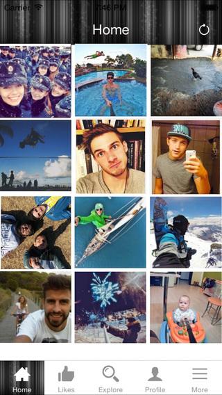 Selfie Repost For Instagram