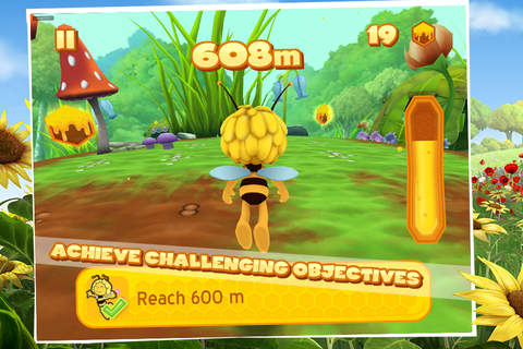 Maya The Bee: Flying Challenge screenshot 4