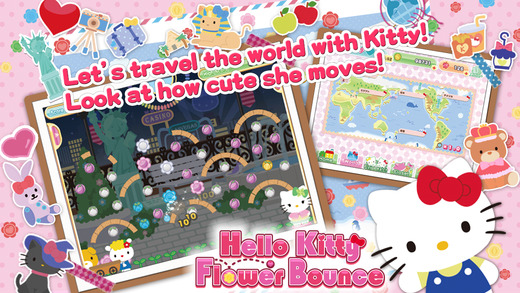 Hello Kitty Flower Bounce