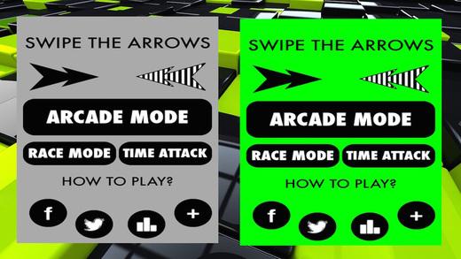 Swipe The Arrow Direction