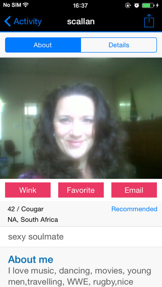 Apps for dating cougars