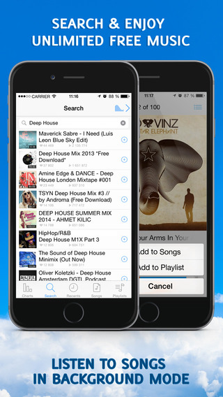 Music Pro - Free Music Mp3 Streamer Player and Playlist Manager. Free App Download Now