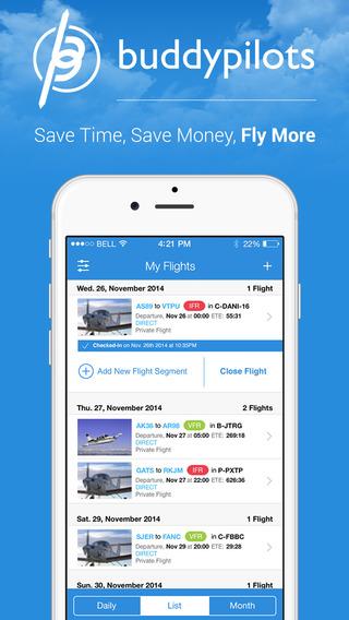 Buddypilots - Flight Manager