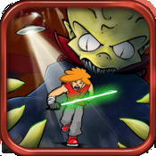 精品跑酷 – 等离子剑 Don't Run With a Plasma Sword [iOS]