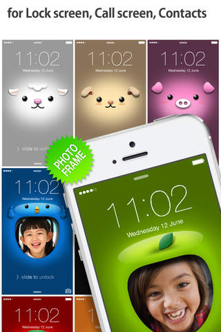 iFaceMaker ( Cute and funny faces ) : for Lock & Call screen, Contacts profile photo, instagram