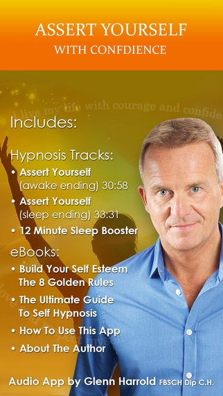 Assert Yourself with Confidence - Hypnosis by Glenn Harrold