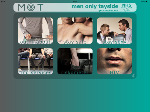 Men Only Tayside - Tablet