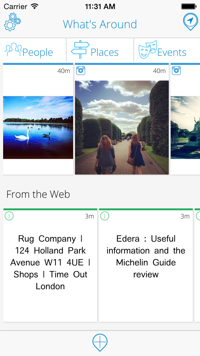 HoverPin Local Search and Travel App
