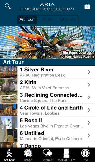 CityCenter Fine Art Collection iPhone Screenshot 2