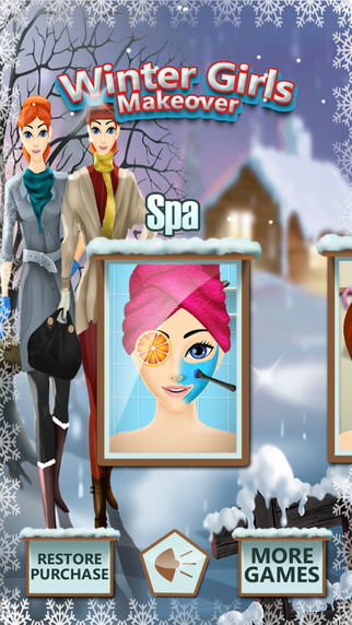 Winter Girl Makeover - Dress up your Magical Fairy Princess in her Palace for All Sweet Fashion Girl