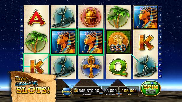 Slots - Pharaoh's Way  - The best free casino slots and slot tournaments! Screenshots