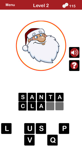 QUIZMAS PICS HOLIDAY TRIVIA - The Christmas Picture Word Trivia Game for the Holiday Season.