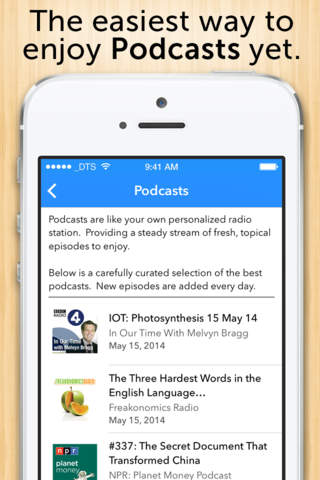 Audiobooks - Thousands of free Audiobooks and Podcasts. screenshot 2