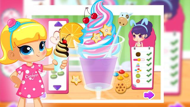 Ice Cream Maker-YoYo Cooking Game