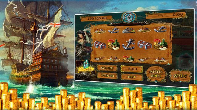 Pirates Treasure - Free Slot Machines